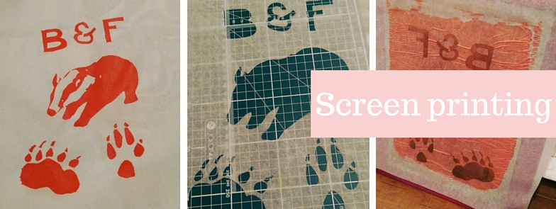 Tea and Crafting class: Screen printing