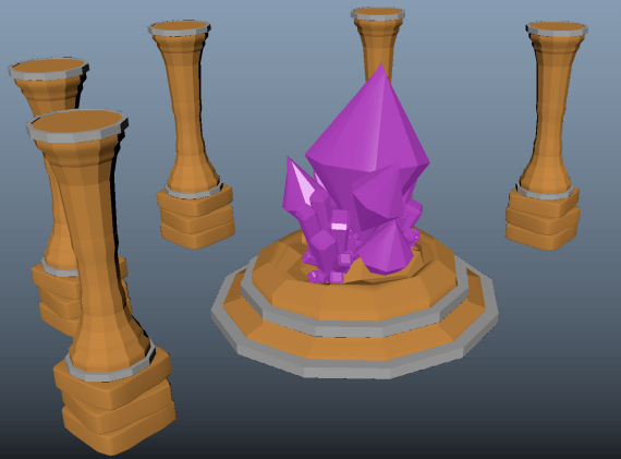 Crystal Altar - sideview