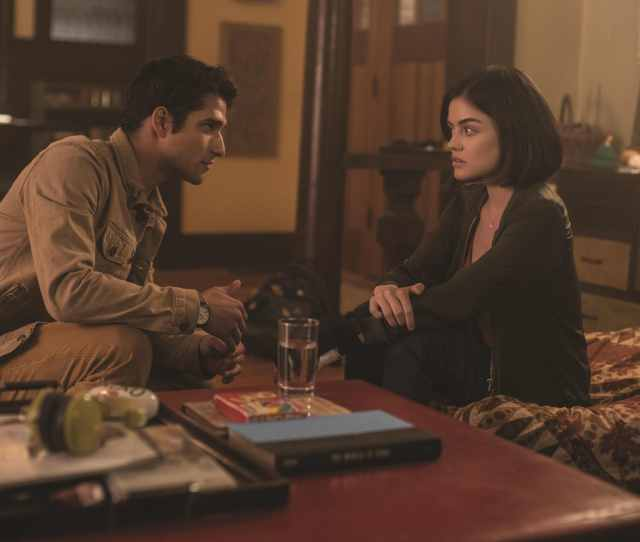 Lucas Tyler Posey And Olivia Lucy Hall Try To Deny Their Truth In Blumhouses Truth Or Dare A Supernatural Thriller From Blumhouse Productions