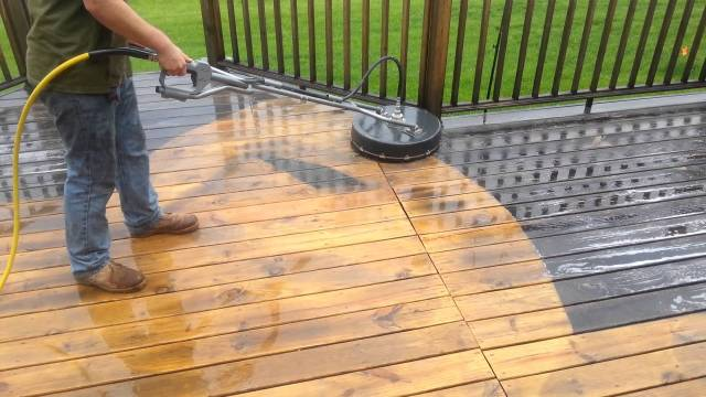 A 22 Guide to Deck Maintenance: Get it Clean in a Jiff - Badger