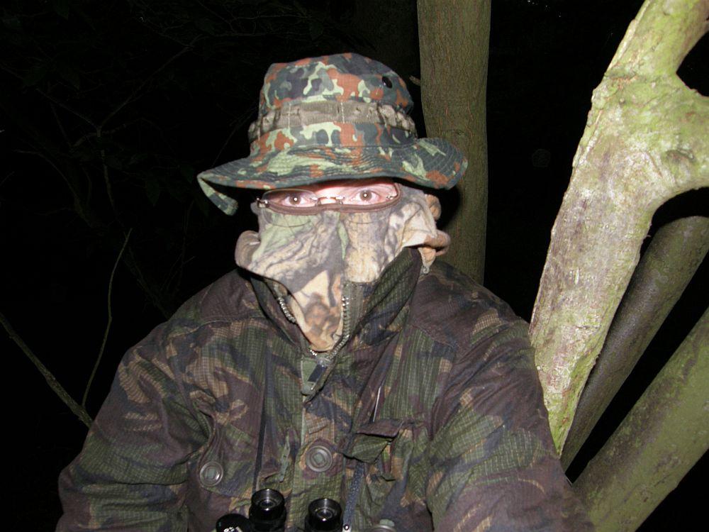 The Badger Watching Man