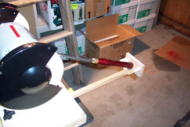 sharpening wood lathe turning tools