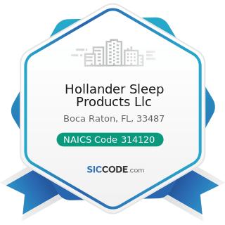 hollander sleep products llc zip