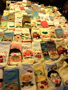 ...and even more sock vendors!