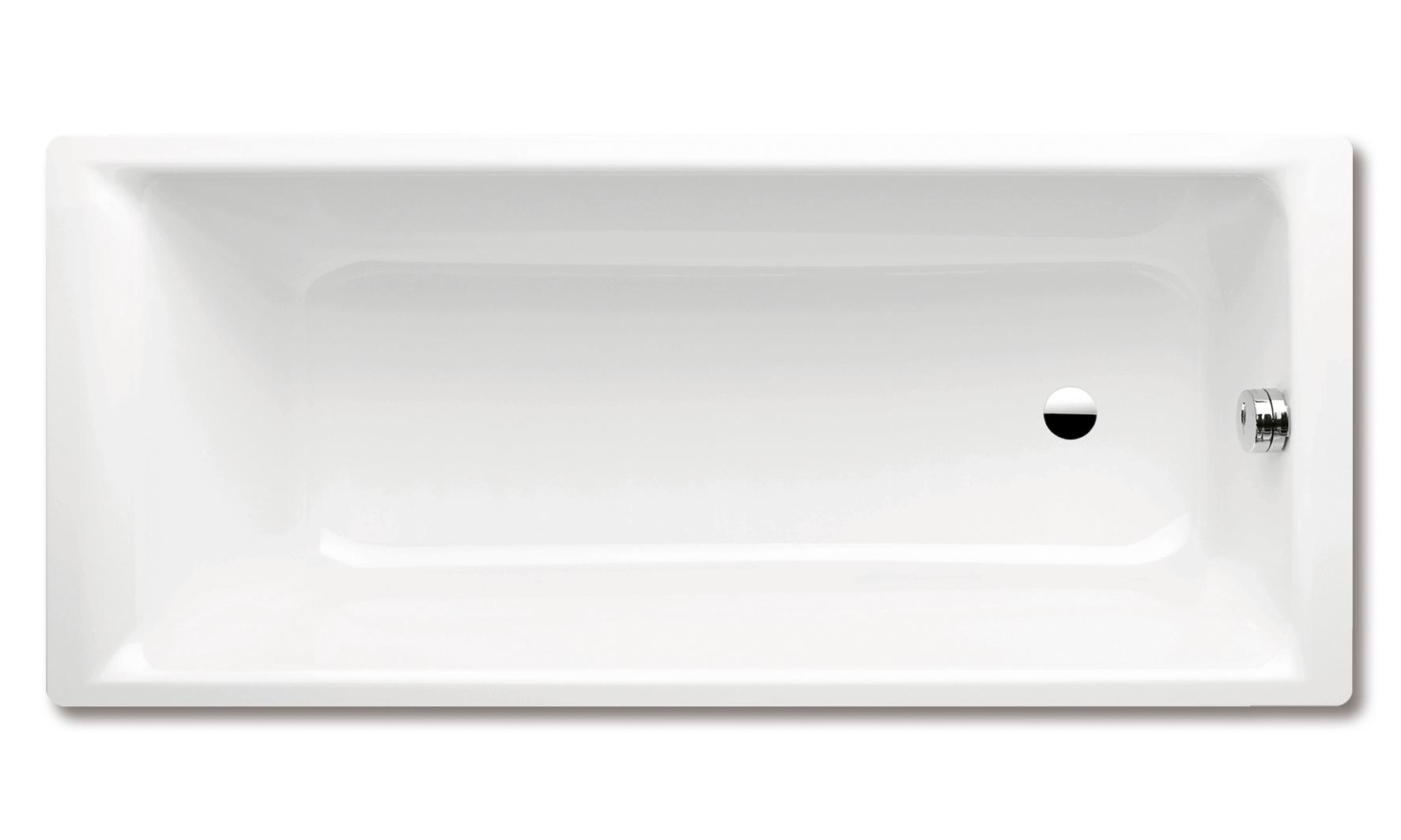 Vita Modular Stahl Badewanne Weiss Badisto