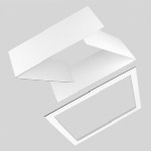 Ubbink Interieur afwerkrand voor Purilan Euro dakraam type: Plano 300mm Wit