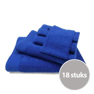 The One basic pakket badtextiel 450 gram Royal Blue - 18 stuks