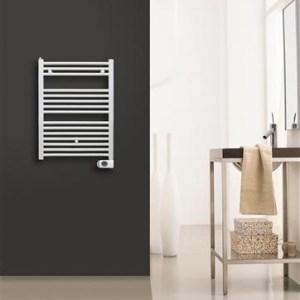 Solar Plus Elektrische handdoekradiator wit 1200 x 500 600 Watt