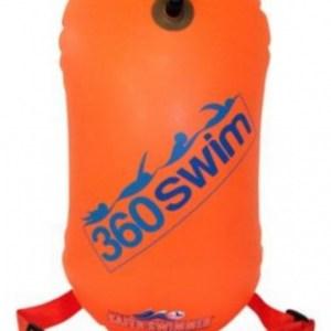 SaferSwimmer™ zwemboei Tow Float 48 x 28 cm TPU oranje