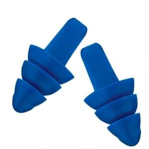 Atipick oordoppen zwemmen blauw one size