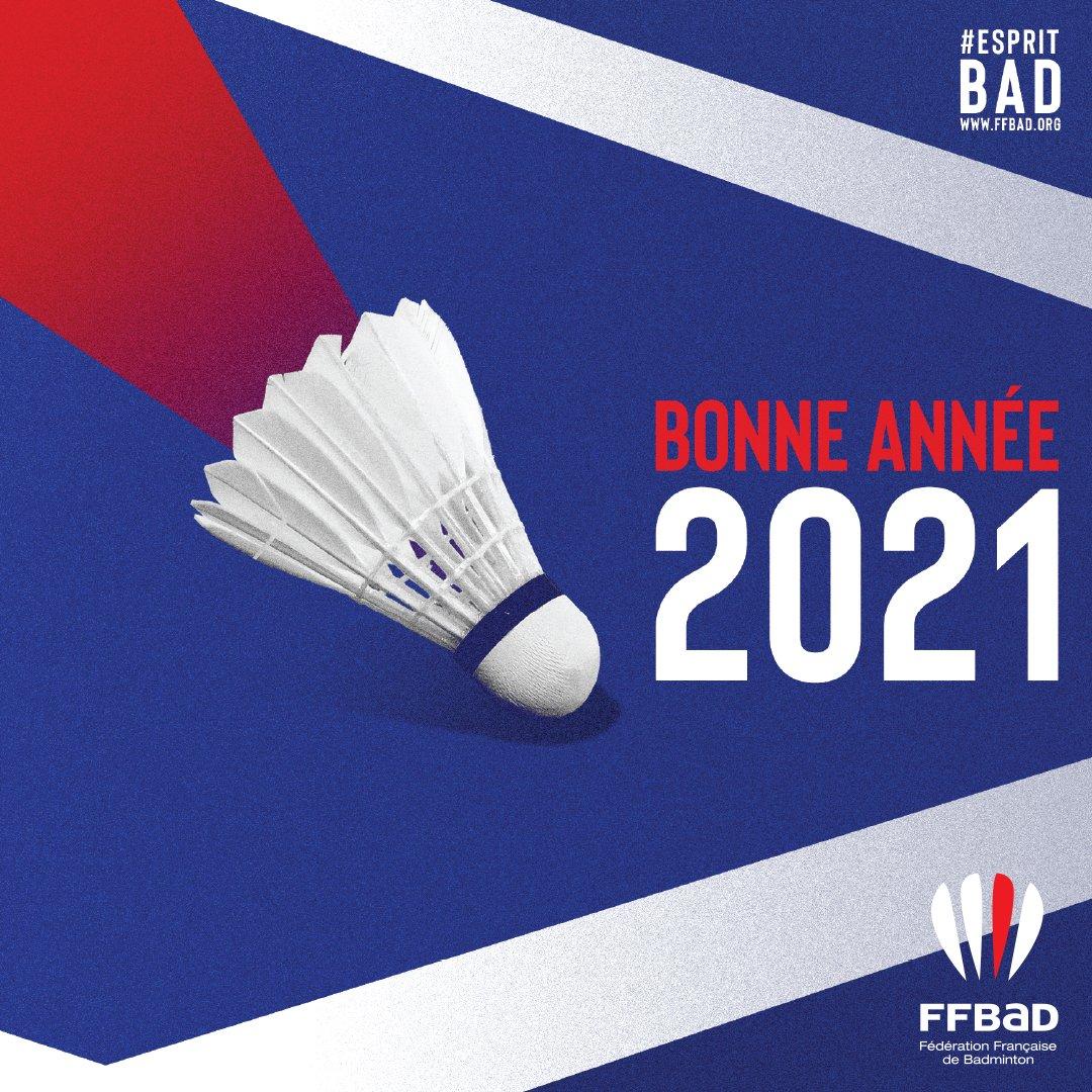 Bonne année 2021 (c) FFBaD