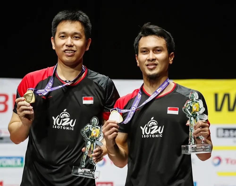 Hendra Setiawan and Mohammad Ahsan, Indonesia