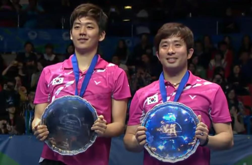 Lee Yong Dae and Jung Jae Sung, South Korea
