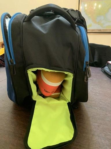 Yonex Pro Racquet Bag (9PCS) - Shoe Compartment Filled.