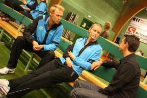 2013 Værløse vs TSS Badmintonliga - Thilde Iversen Rene Mattisson