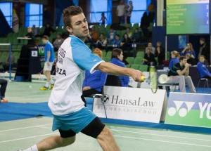 Rasmus Fladberg er kvartfinaleklar i Sverige.
