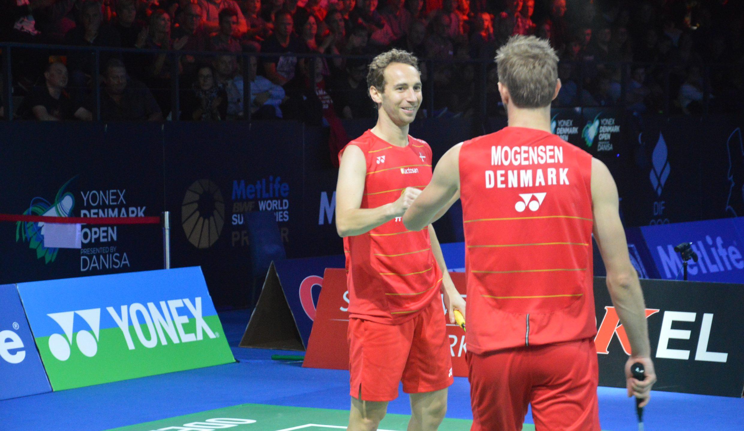Sprudlende Boe og Mogensen er semifinaleklar i Singapore