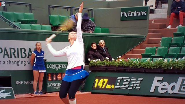 Magistrale Kiki Bertens bij de laatste 4 op Roland Garros