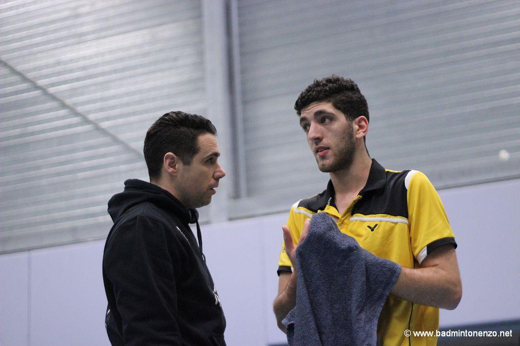 Erik Staats, Aram Mahmoud