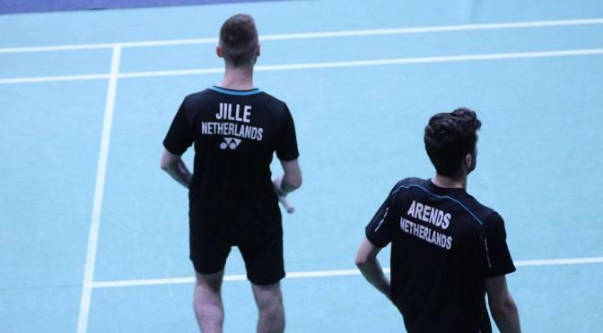 Jacco Arends en Ruben Jille naar tweede ronde WK Badminton Nanjing #TotalBWFWC2018