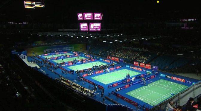Knappe overwinning Debora Jille en Imke van der Aar op WK Badminton #TotalWBFWC2018