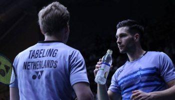 Robin Tabeling en Jelle Maas WK Badminton Nanjing 2018