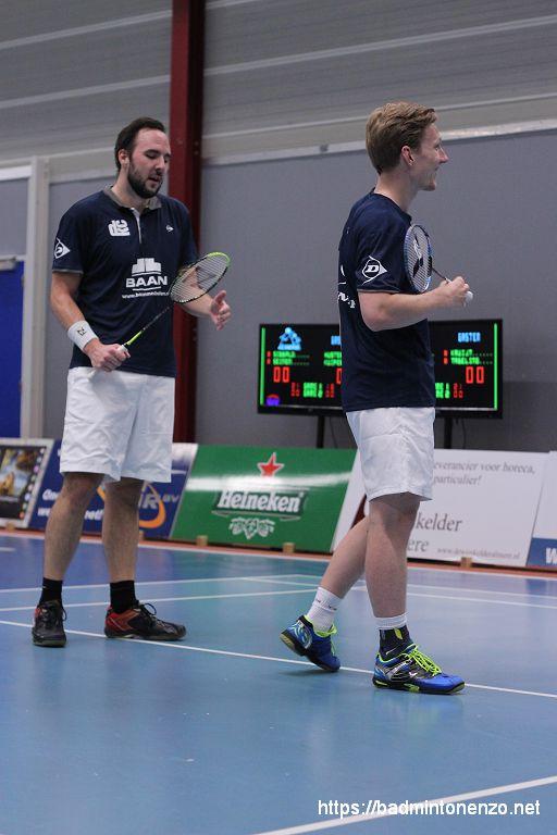 Michiel Kruijt en Robin Tabeling