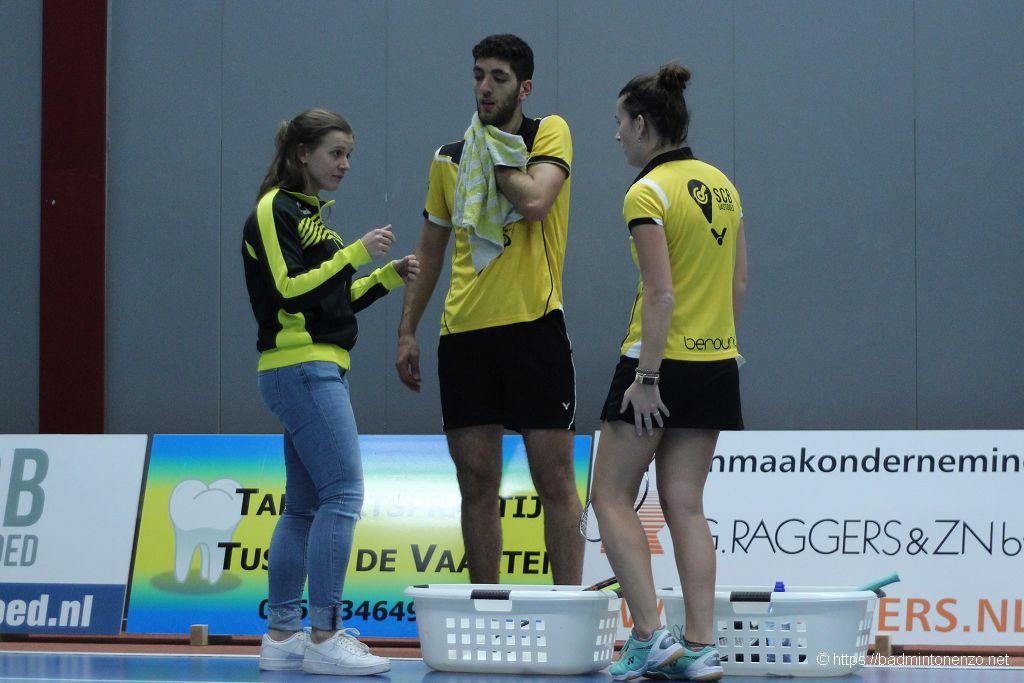 Ilse Vaessen, Aram Mahmoud, Rosalie Teuben