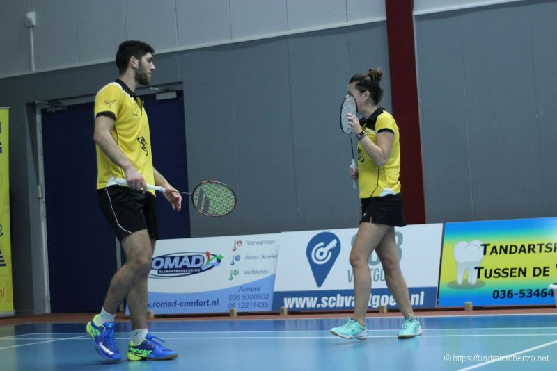 Aram Mahmoud, Rosalie Teuben