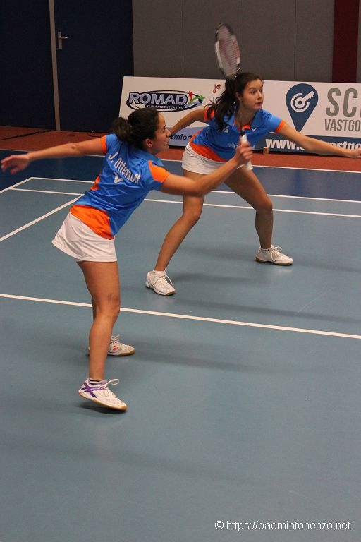Jessica Ottenhoff en Cloë Mayer