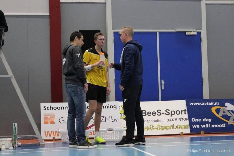 Erik Staats, Dennis Koppen, Léon Nottelman