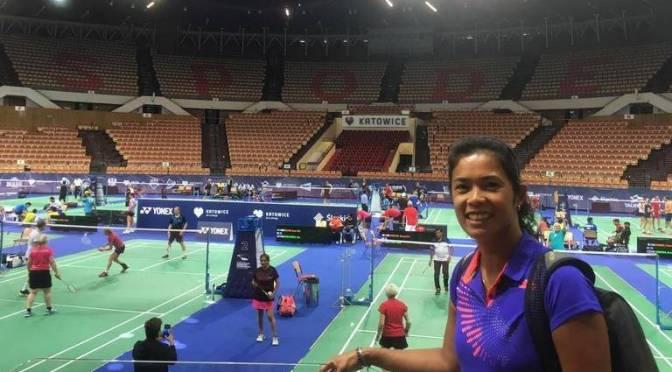 Georgy Van Soerland-Trouerbach wereldkampioen dames dubbel 45+