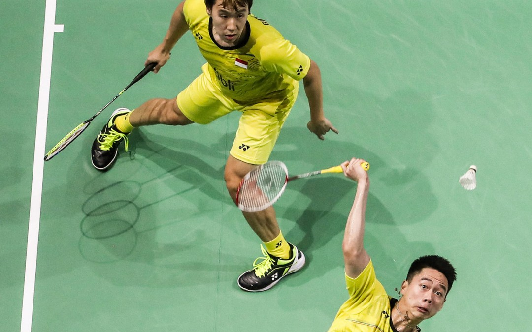 Draw for the world championships – Mens Doubles