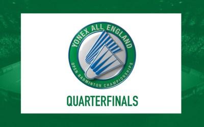 All England Quarterfinals predictions