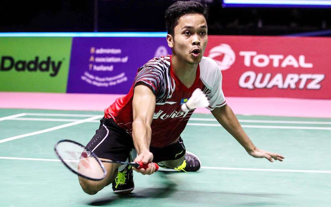 Indonesian men's singles unstoppable: Bye bye Chen Long!