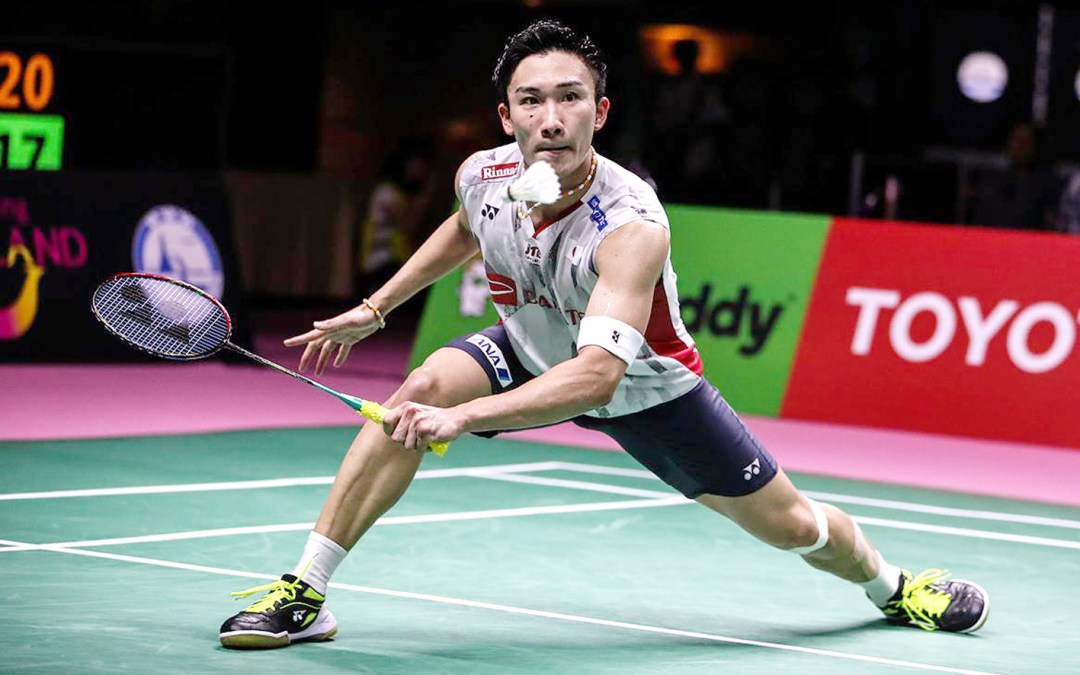 Momota is unstoppable