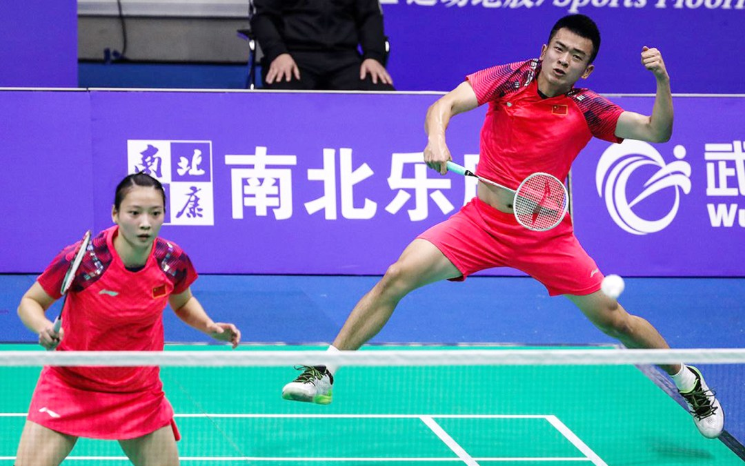 Ni hao, Nanjing! Chinese dominance in mixed double