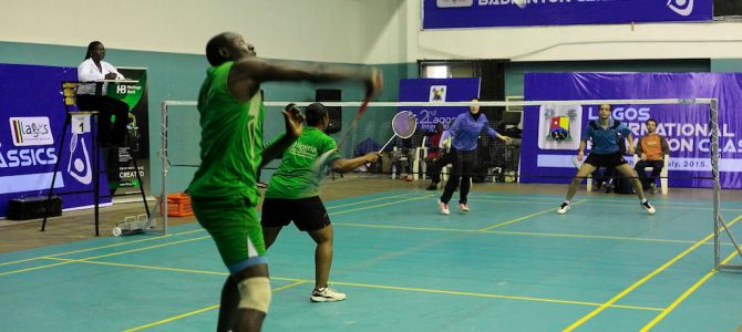 PICTURES: Day 3 of the 2nd Lagos International Badminton Classics