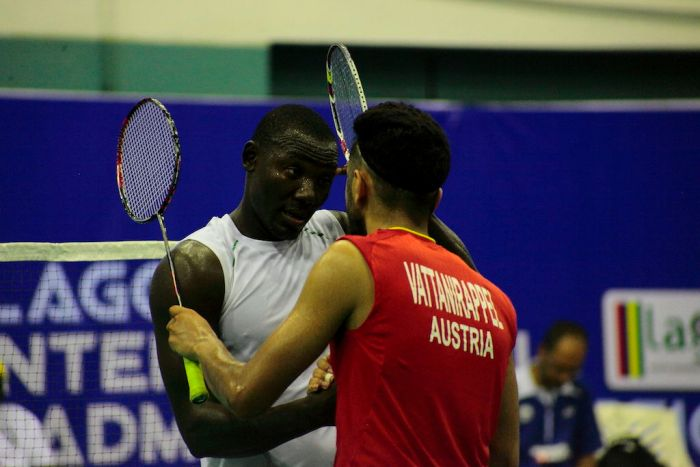 Nigeria's Jinkam Bulus and Luka Wraber