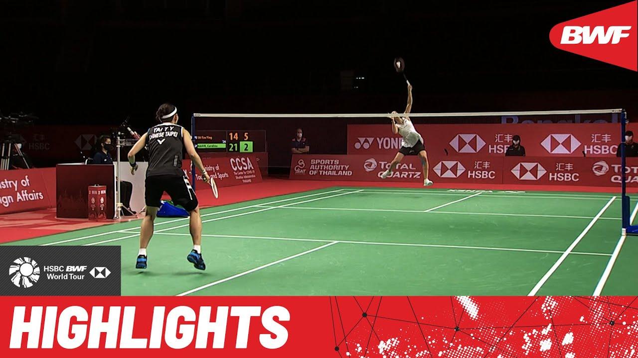 maxresdefault 59 - HSBC BWF World Tour Finals | Drama-filled contest between Tai Tzu Ying and Carolina Marin