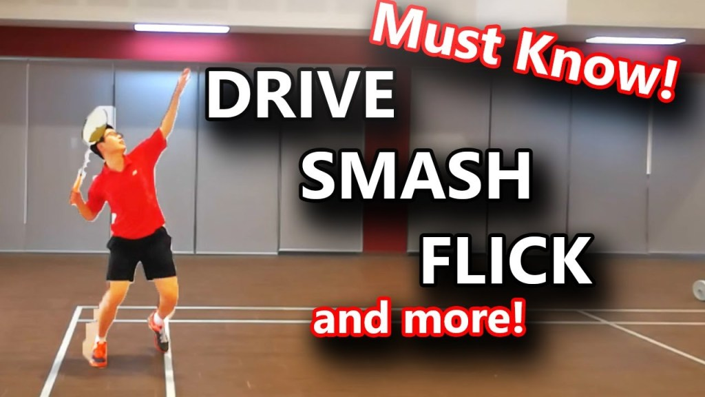 maxresdefault 60 - 12 Basic Badminton Techniques that you MUST Know - Introduction