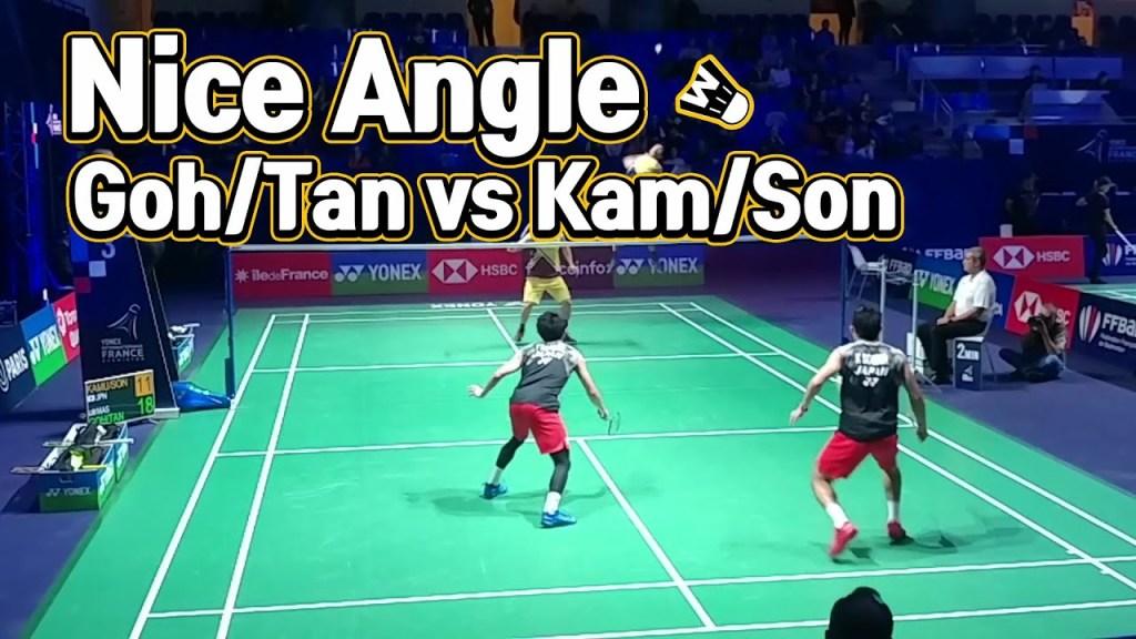 maxresdefault 81 - Low nice angle badminton match highlight -- Goh/Tan vs Kamura/Sonoda