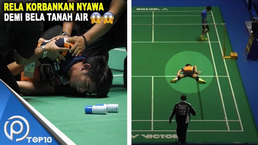maxresdefault 13 - Tumbang Seketika !! Momen Cedera Paling Horor Dalam Badminton Part #2