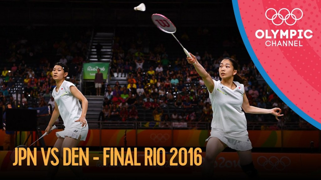 maxresdefault 26 - Women's Doubles Badminton Final 🇯🇵🆚🇩🇰   Rio 2016 Replays