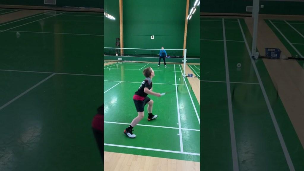 maxresdefault 39 - Badminton Smash Training #shorts