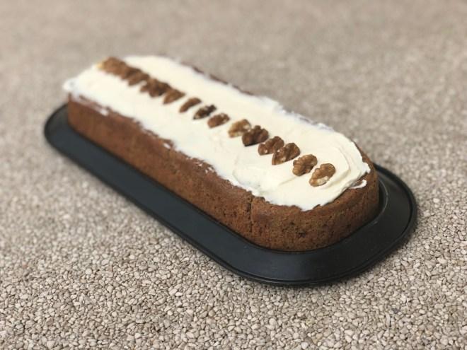carrot cake allégé en sucre
