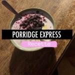 Porridge express vegan