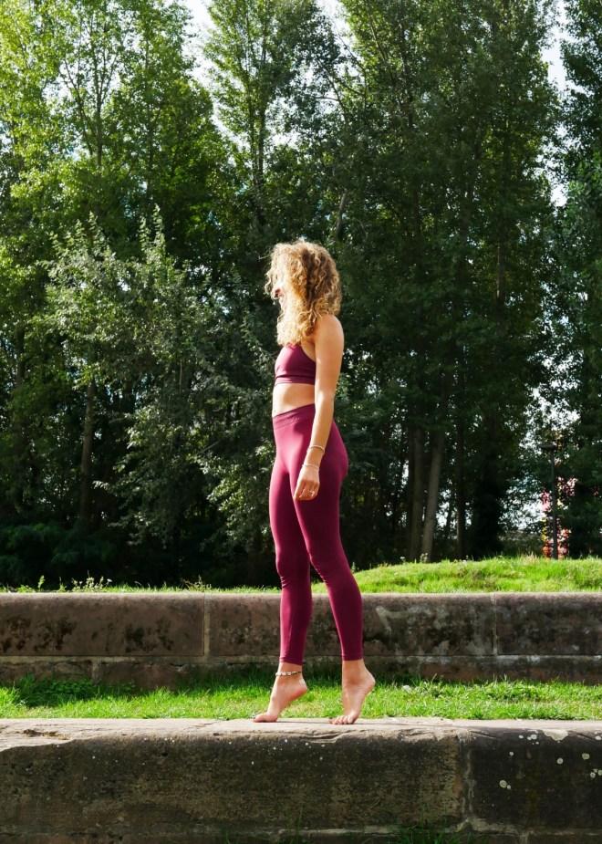 Tenue de Yoga éco-responsable