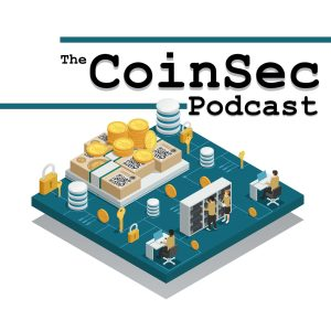 The CoinSec Podcast logo