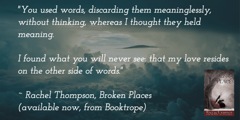 selling books, Other Side of Words from 'Broken Places, by RachelintheOC.com